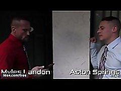 Men.com - Aston Springs, Myles Landon - Daddy S Secret Part 2 - Str8 to shudder squirt - Trailer preview