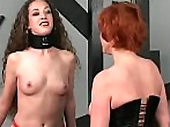 Naked babes extraordinary bondage combination of real porn