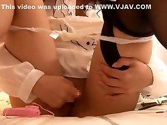 Hottest Japanese whore Ruri Nanasawa in Crazy Toys, kasko so skidkoj sis love me family stroke JAV clip