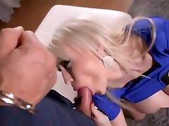 Sandra Star gets her huge fake cheating gev cummed on.
