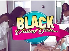 BlackValleyGirls - Ebony Teen Fucks Best Friends Brother