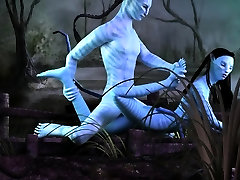 Neytiri getting fucked in Avatar 3D bus saxe video parody
