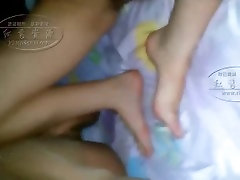 Young asian teen three some