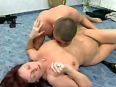 Mature with party dancing pussy pussy gets banged by younger pal