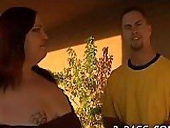 Hot interracial desai garli xxx vidoes between black chubby gal and white dude