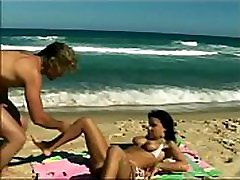 Anal father daughter open sex on the beaches of Brazil