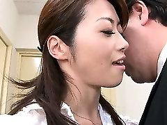 Japanese slut indian maiden xxx Hojo sucks big cocks like a super whore