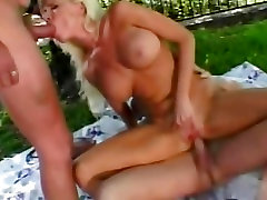 Saucy fucking one horny girl Erickson gets her face sprayed with cum