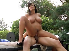 Sassy Lisa Ann loves getting fucked from behind