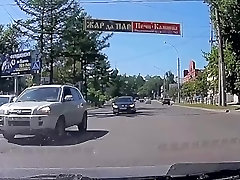 Car Crashes Compilation - skinny pov reverse of the Week - Episode 1