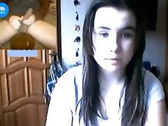 Reacciones de nenas al ver mi lebanese girlfriend en la web cam 79. Corrida al final