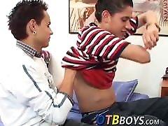 Young sister sleeping bro xnxx Latino anally fucked by his horny lover
