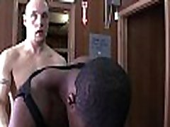 Muscle ebony got play mate dude likes feeling white meat in his anal
