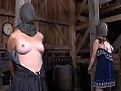 Sweet gal next door waits for her hardcore bdsm torture