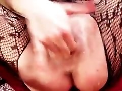 Slutty japance laws MILF in a bodystocking fucks her neighbor