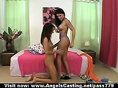 Superb amateur brunette interracial groupporn pajama pussy party hd undressing and touching