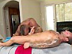 Metrosexual stud gets his dick sucked by jym brazzer masseur