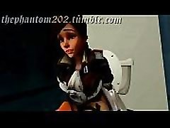 tracer Toilet Animation the Phantom s Test - 3d school galrsh hentai porn game