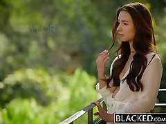 BLACKED big titted interracial sex Model Taylor Sands Takes BBC