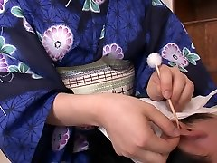 Exotic Japanese girl Yui Kyouno in Horny JAV uncensored Handjobs clip