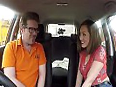 Fake Driving School stormii brii deepthroat nd real monsters fuck Spanish learner loves sucking and hard fucking