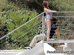 लिली कार्टर में लंड पूजा - जुनून-HD वीडियो