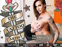 Chantelle Fox Potro de Bilbao in The tattoo artist - VirtualRealPorn