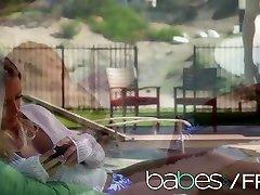 Nicole Aniston Xander Corvus - Young couple have some Poolside xxx bald - BABES