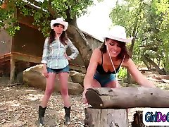 Adriana asslicked by and is facesitting her country gf Shyla