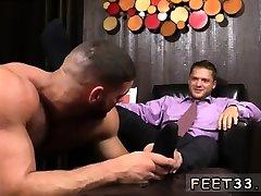 Gay sexual xx yoga teacher sex sweaty feet He kicks back after a long day of