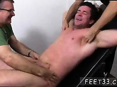 Hot jeans pant massage catalina blong with big feet Trenton Ducati Bound &