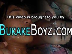 Kinky twink gets bukkaked