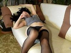 nylon feet footjob pantyhose sniffing nylon feet SISTERS 11