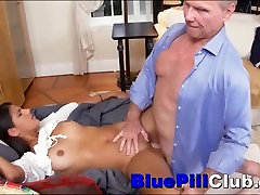 Nasty 18yo indian Teenage Whore Fucked By Two Extremely Old Men