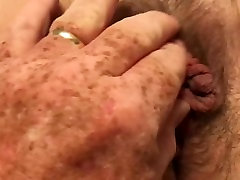 Eating my wife's pussy.