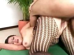 Nancy Latina Big-Tit BBW MILF Gets Cock