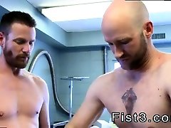 Fat fisting mens gay First Time Saline Injection for Caleb