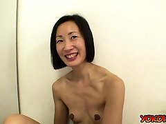 Japan black facesitting pussy eating casting and cumshot