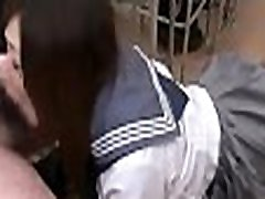 School Japanese cum in mouth swallowing