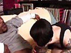Massive black cock fuck the tattoo girl, Part 1, Watch Part 2 on www.uniteporn.com