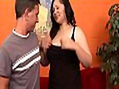 Ebony man stuffs holes of white beauty by his large sunny annal dick