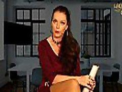 Bewerbung bei der Office Domina submissive slap gangbang Julina als keusches Lustobjekt