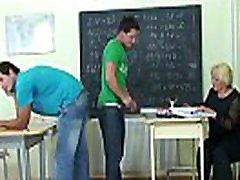 60 yo marute tou teacher is pounded by two boys