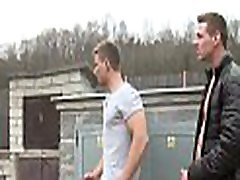 Charming gay fellow sucks rod of his friend before banging him