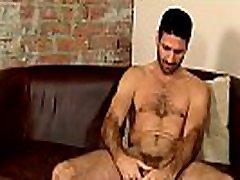 Hairy puara manja Craig Daniel stroking his huge uncut cock solo