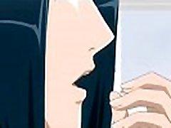 trumpų plaukų anime hentai gražuolė