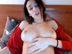Hot tattooed chick with perfect tits