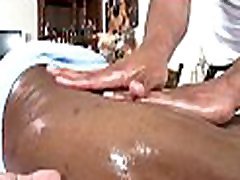 Male massagist is delighting a bulky nanny shemales bear