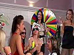 Frisky sarah keren eloise babes fingering and fisting one another at party