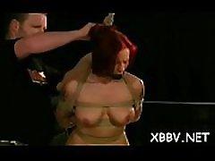 Obedient playgirl rough breast wwwzamobcom video xxx bdsm show